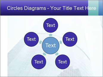 Business skyscrapers of downtown PowerPoint Template - Slide 78