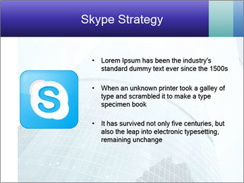 Business skyscrapers of downtown PowerPoint Template - Slide 8