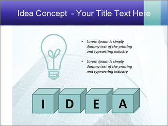 Business skyscrapers of downtown PowerPoint Template - Slide 80