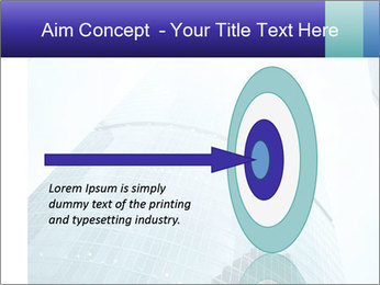 Business skyscrapers of downtown PowerPoint Template - Slide 83