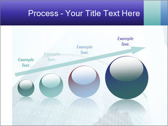 Business skyscrapers of downtown PowerPoint Template - Slide 87