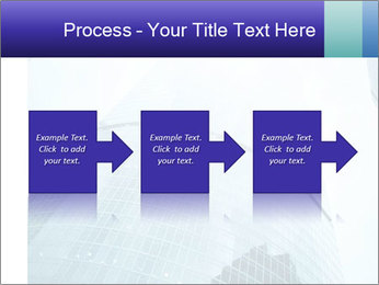 Business skyscrapers of downtown PowerPoint Template - Slide 88