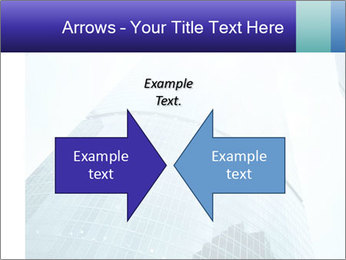 Business skyscrapers of downtown PowerPoint Template - Slide 90