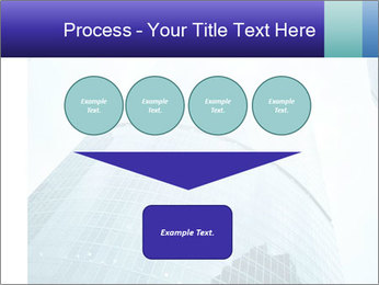 Business skyscrapers of downtown PowerPoint Template - Slide 93