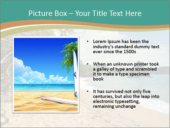 Tropical beach in Costa Rica PowerPoint Templates - Slide 13