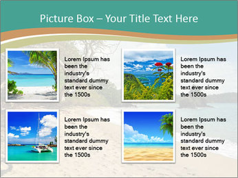 Tropical beach in Costa Rica PowerPoint Templates - Slide 14