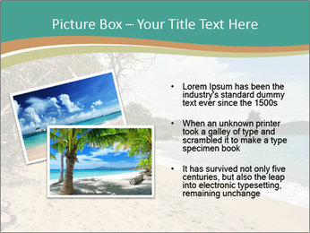 Tropical beach in Costa Rica PowerPoint Templates - Slide 20