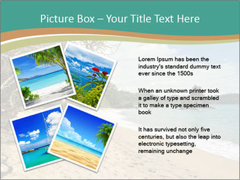 Tropical beach in Costa Rica PowerPoint Templates - Slide 23