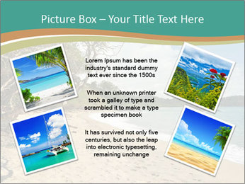 Tropical beach in Costa Rica PowerPoint Templates - Slide 24