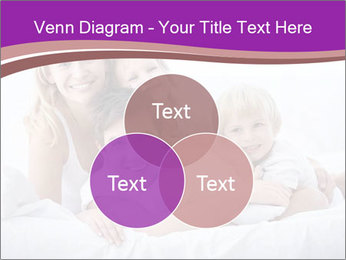 A young family with young children to bed in the bedroom PowerPoint Templates - Slide 33