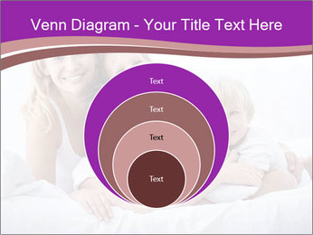 A young family with young children to bed in the bedroom PowerPoint Templates - Slide 34