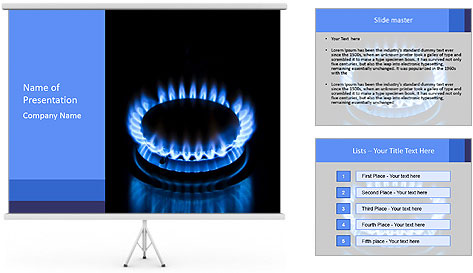 Gas PowerPoint Template