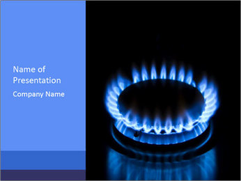 Gas PowerPoint Templates - Slide 1