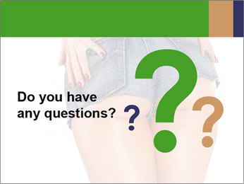 Sexy woman body in jean shorts PowerPoint Templates - Slide 96