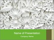 Floral Decorative Carve PowerPoint Templates