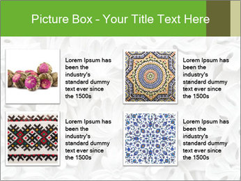 Floral Decorative Carve PowerPoint Template - Slide 14
