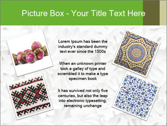 Floral Decorative Carve PowerPoint Template - Slide 24