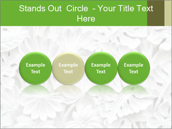 Floral Decorative Carve PowerPoint Template - Slide 76