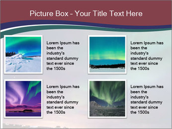 North Twilight PowerPoint Template - Slide 14