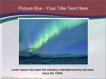 North Twilight PowerPoint Template - Slide 15