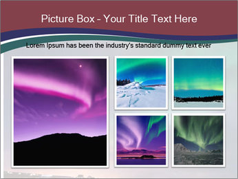North Twilight PowerPoint Template - Slide 19