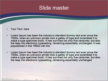 North Twilight PowerPoint Templates - Slide 2