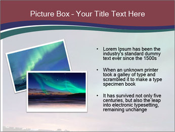 North Twilight PowerPoint Template - Slide 20