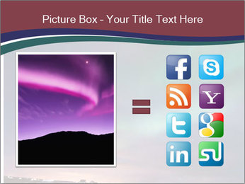 North Twilight PowerPoint Template - Slide 21