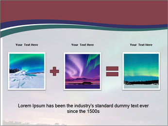 North Twilight PowerPoint Template - Slide 22