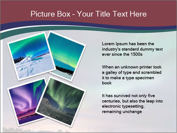 North Twilight PowerPoint Template - Slide 23