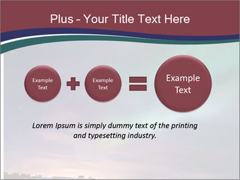 North Twilight PowerPoint Template - Slide 75
