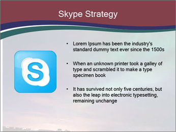 North Twilight PowerPoint Template - Slide 8