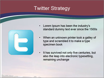 North Twilight PowerPoint Template - Slide 9