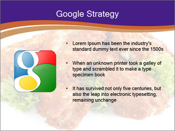 Chicken Appetizer PowerPoint Templates - Slide 10