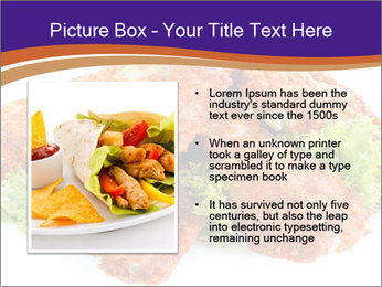 Chicken Appetizer PowerPoint Templates - Slide 13