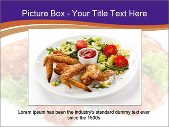 Chicken Appetizer PowerPoint Templates - Slide 15