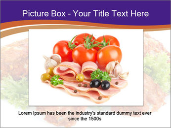 Chicken Appetizer PowerPoint Templates - Slide 16