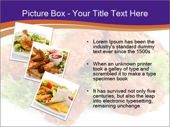 Chicken Appetizer PowerPoint Templates - Slide 17