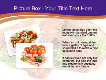 Chicken Appetizer PowerPoint Templates - Slide 20