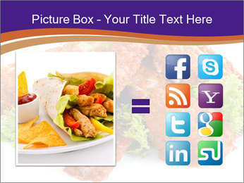 Chicken Appetizer PowerPoint Templates - Slide 21
