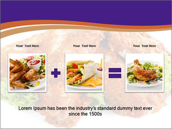 Chicken Appetizer PowerPoint Templates - Slide 22