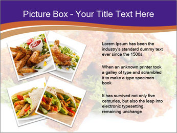 Chicken Appetizer PowerPoint Templates - Slide 23