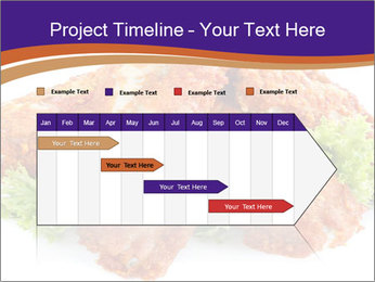 Chicken Appetizer PowerPoint Templates - Slide 25