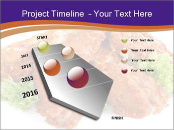 Chicken Appetizer PowerPoint Templates - Slide 26