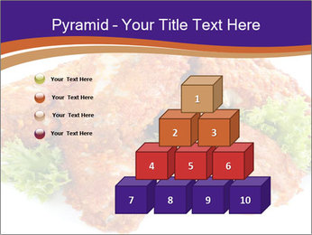 Chicken Appetizer PowerPoint Templates - Slide 31