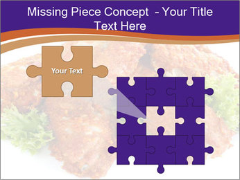 Chicken Appetizer PowerPoint Templates - Slide 45