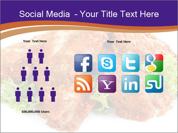 Chicken Appetizer PowerPoint Templates - Slide 5
