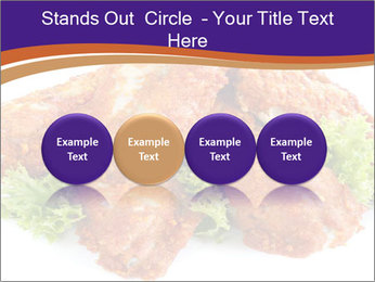 Chicken Appetizer PowerPoint Templates - Slide 76