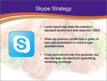Chicken Appetizer PowerPoint Templates - Slide 8