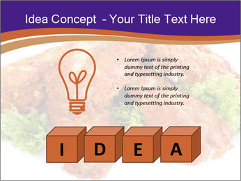 Chicken Appetizer PowerPoint Templates - Slide 80